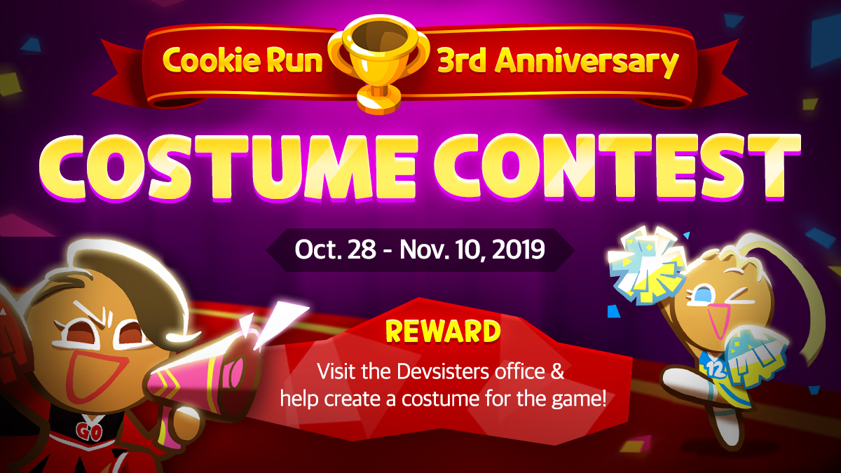 Design A Cookie Costume For Cookie Run Ovenbreak And Visit