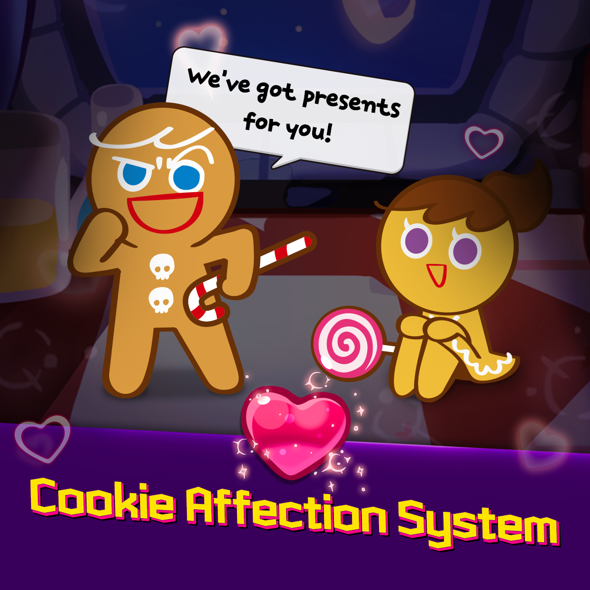 New Cookie Affection System Lobby Renewal